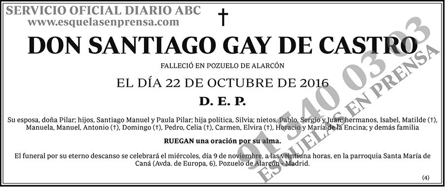 Santiago Gay de Castro